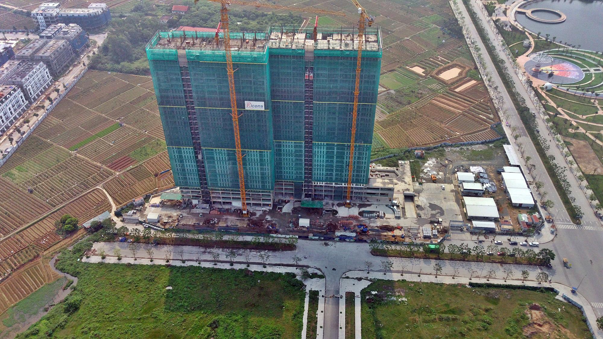 Đường sẽ mở theo qui hoạch ở Hà Nội: Toàn cảnh đường Lê Quang Đạo kéo dài qua KĐT Dương Nội - Ảnh 11.