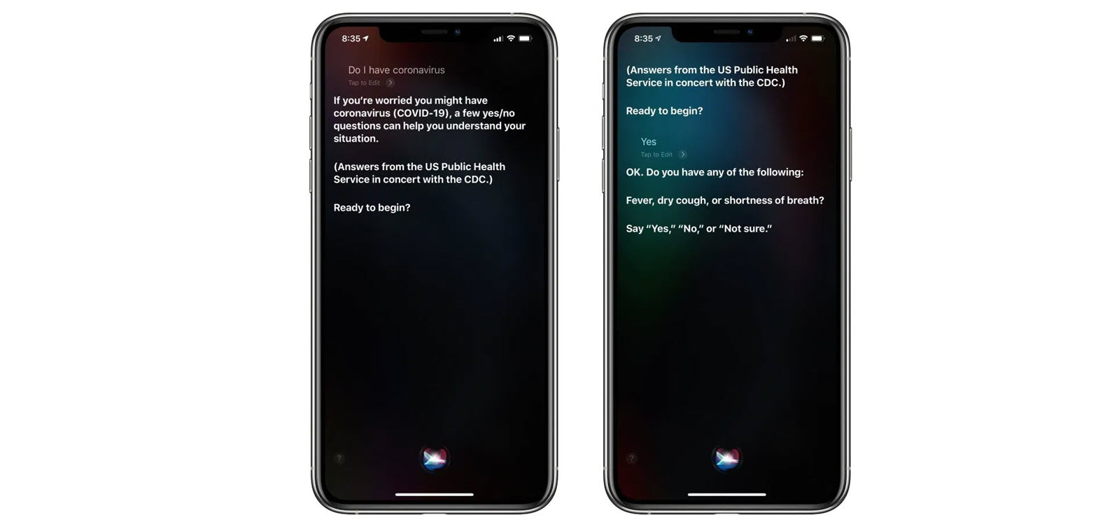 Apple cập nhật Siri cho phép người dùng truy vấn về virus corona - Ảnh 1.