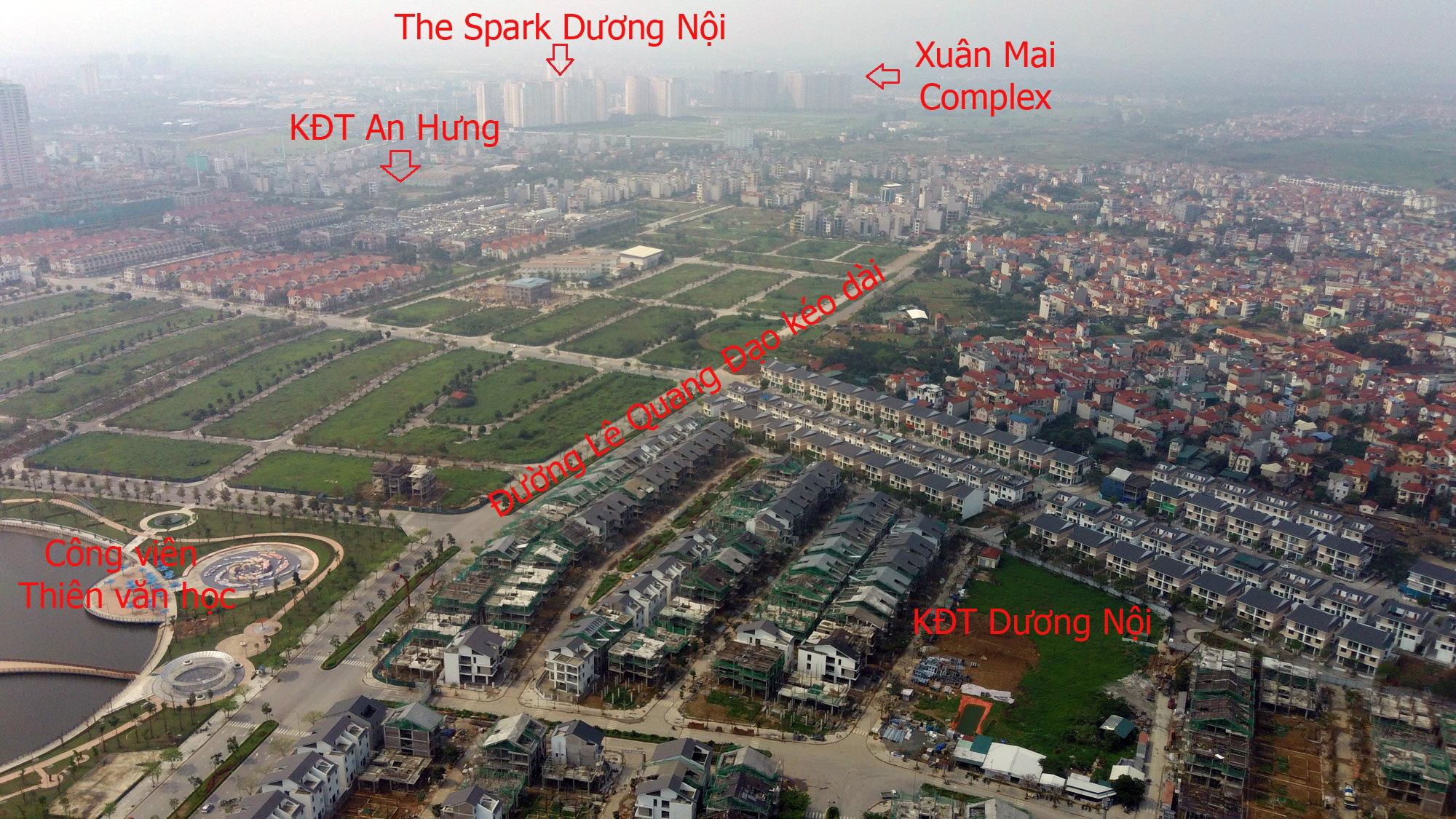 Những dự án hưởng lợi từ qui hoạch đường Lê Quang Đạo kéo dài - Ảnh 13.