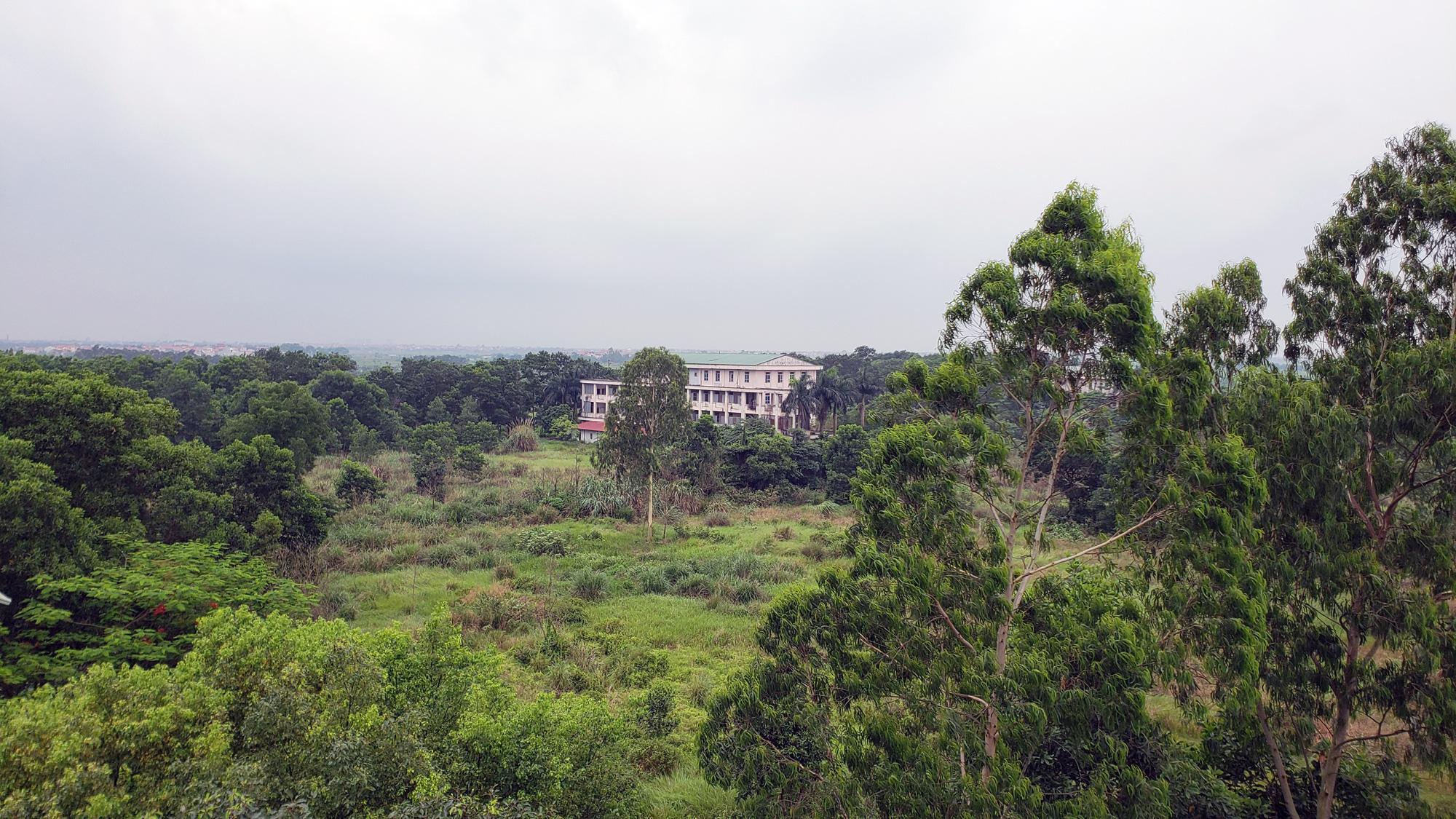Hà Nội sửa xong bệnh viện bỏ hoang ở Mê Linh làm khu cách li chống dịch Covid-19 - Ảnh 2.