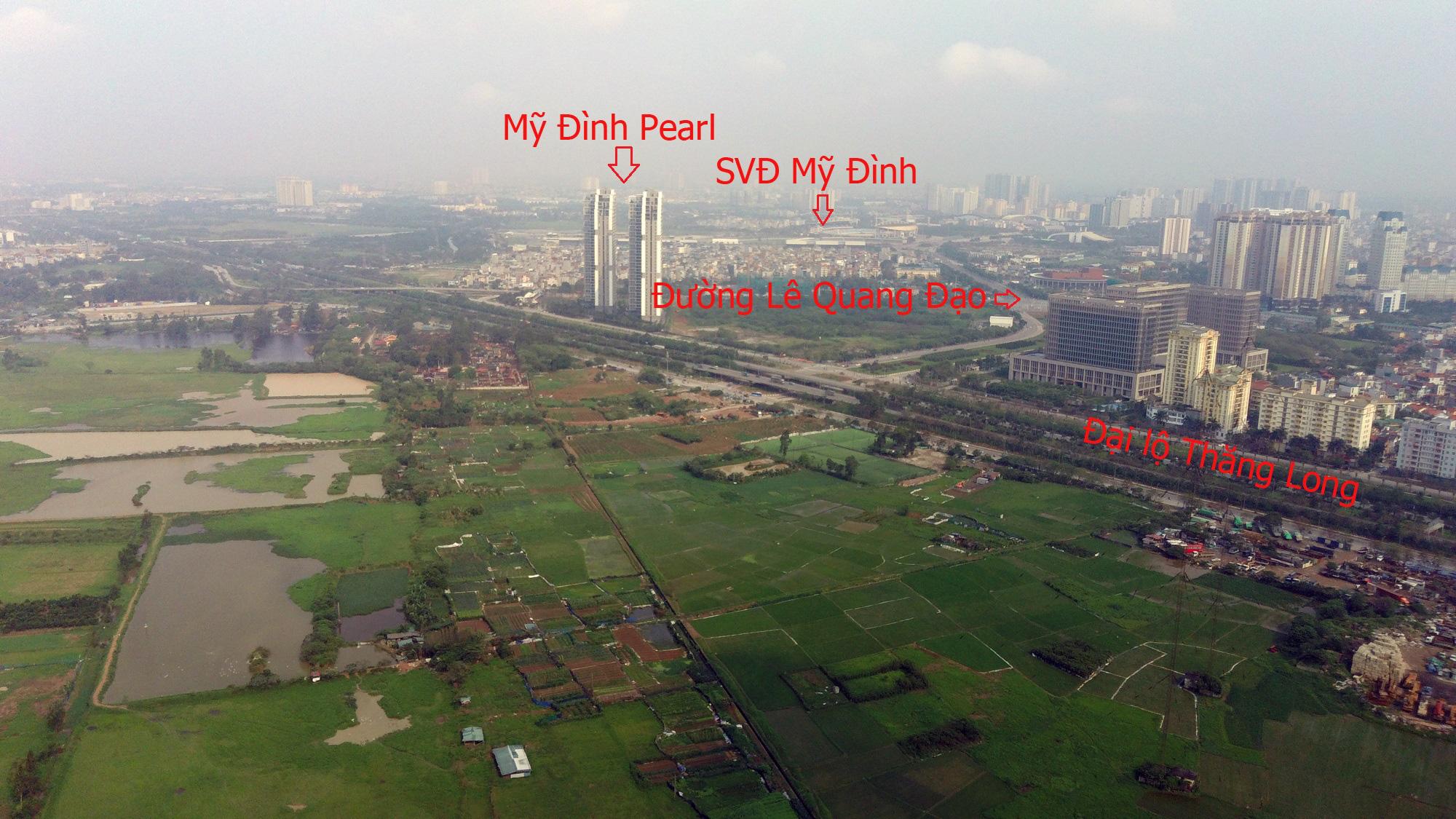 Những dự án hưởng lợi từ qui hoạch đường Lê Quang Đạo kéo dài - Ảnh 3.