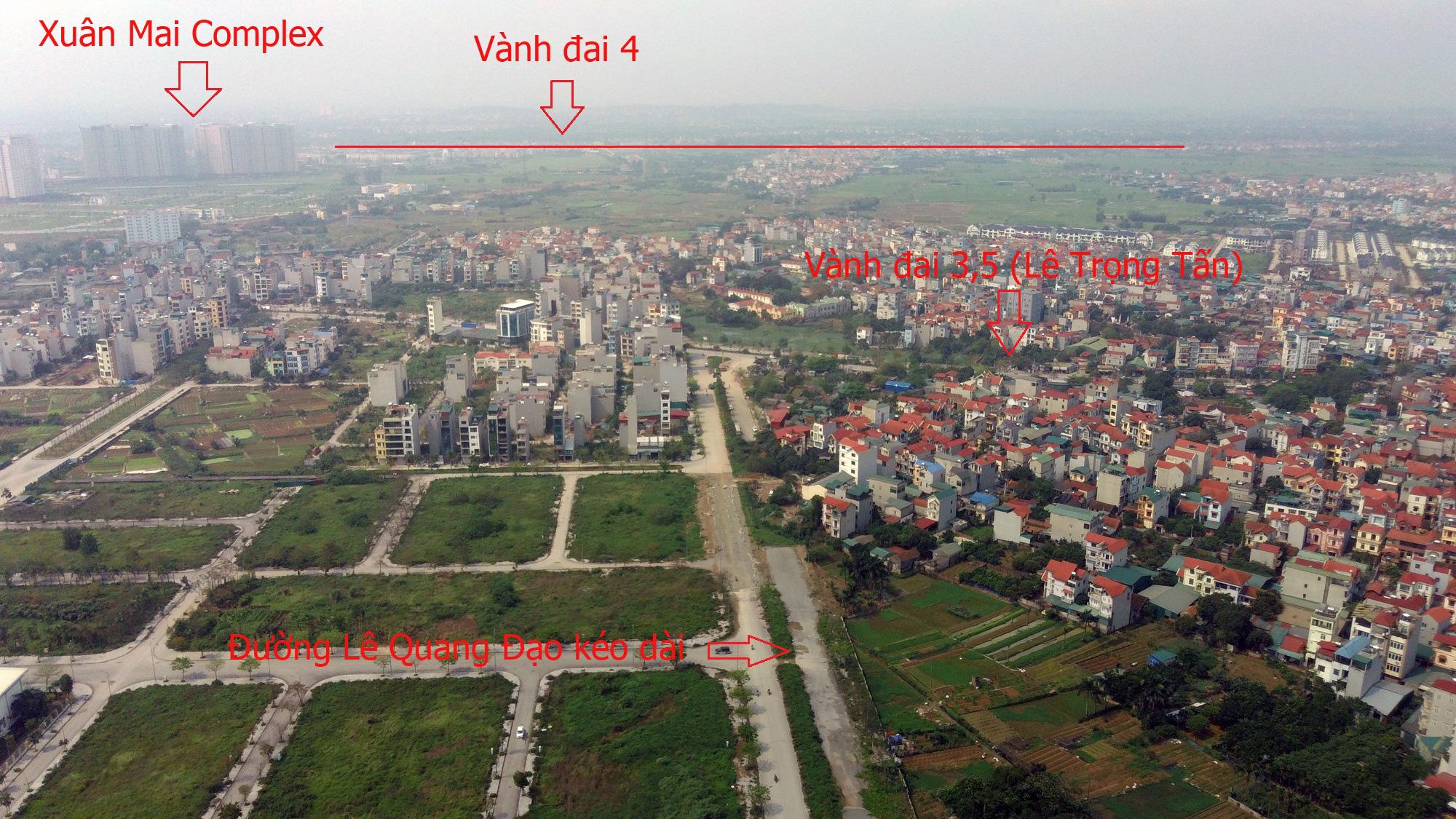 Những dự án hưởng lợi từ qui hoạch đường Lê Quang Đạo kéo dài - Ảnh 16.