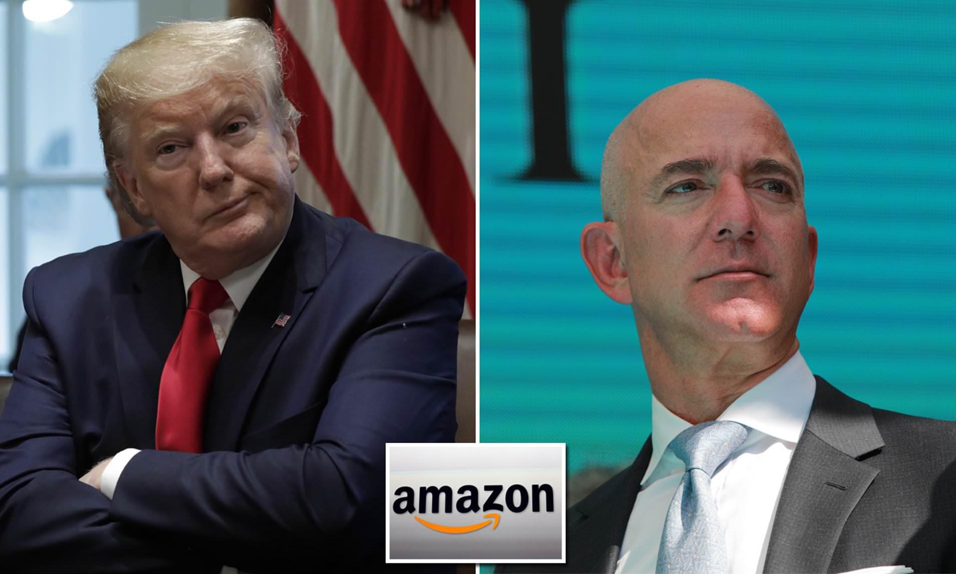 Amazon cáo buộc Bộ Quốc phòng Mỹ cố tình trao dự án 10 tỉ USD cho Microsoft - Ảnh 1.