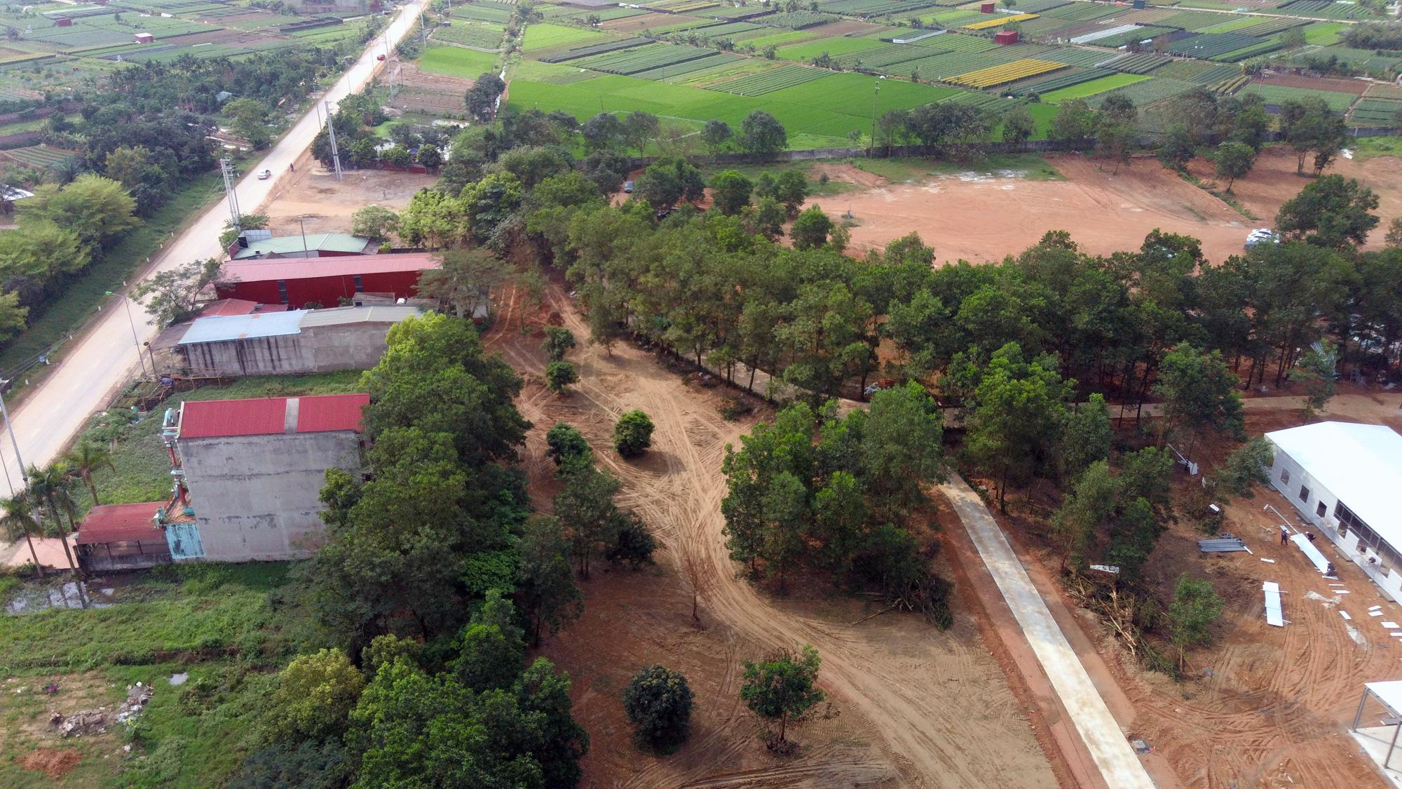 Hà Nội sửa xong bệnh viện bỏ hoang ở Mê Linh làm khu cách li chống dịch Covid-19 - Ảnh 5.