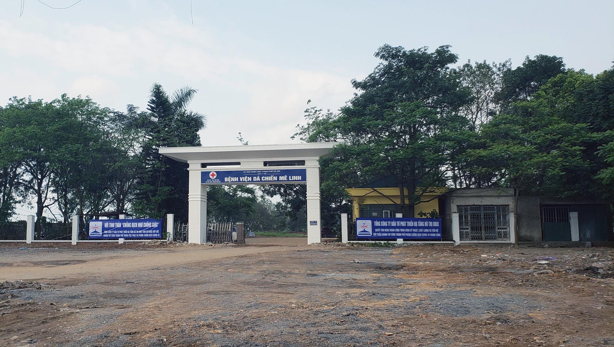 Hà Nội sửa xong bệnh viện bỏ hoang ở Mê Linh làm khu cách li chống dịch Covid-19 - Ảnh 7.