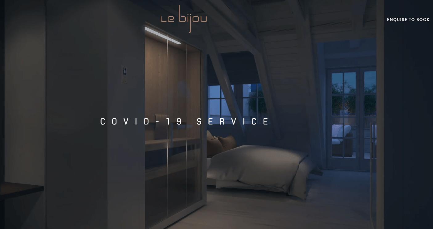 Dịch vụ cách li nghỉ dưỡng xa xỉ nổi lên giữa đại dịch Covid-19 - Ảnh 1.