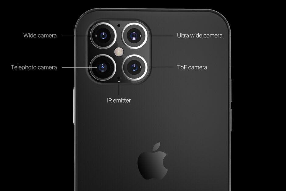 iPhone 12 cải tiến lớn về cụm camera, nhưng vẫn chưa thể bằng Samsung Galaxy S20 Ultra - Ảnh 2.