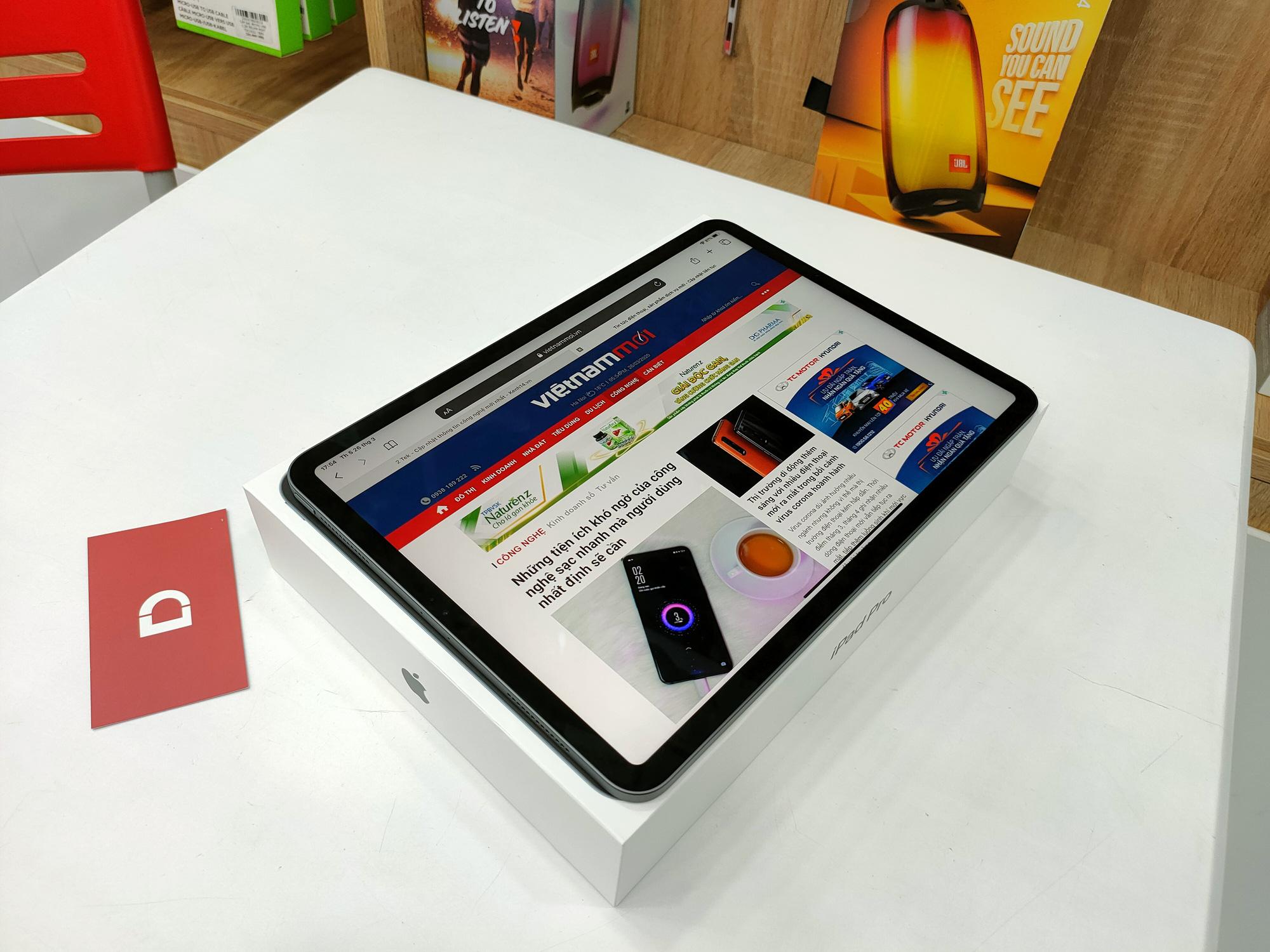 Trên tay nhanh iPad Pro 2020 vừa mới về Việt Nam - Ảnh 1.