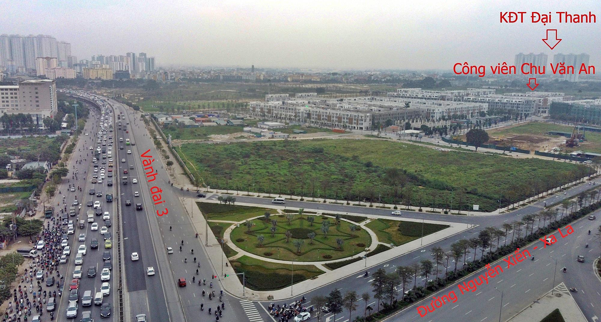 Toàn cảnh công viên Chu Văn An và những dự án hưởng lợi - Ảnh 1.