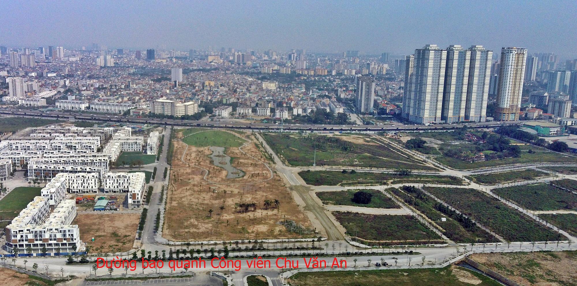 Toàn cảnh công viên Chu Văn An và những dự án hưởng lợi - Ảnh 16.