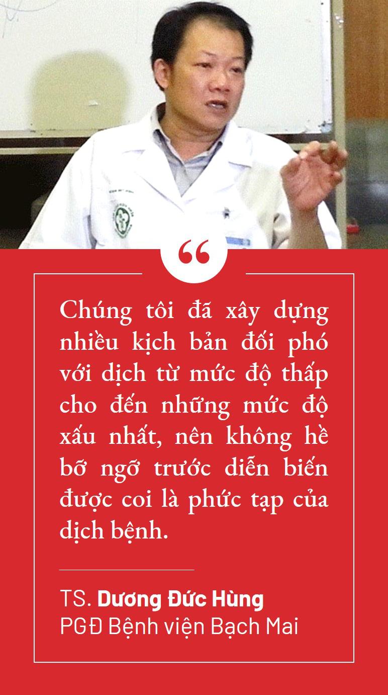 Lãnh đạo Bệnh viện Bạch Mai: 'Chúng tôi cần nhất là sự ủng hộ về tinh thần' - Ảnh 4.