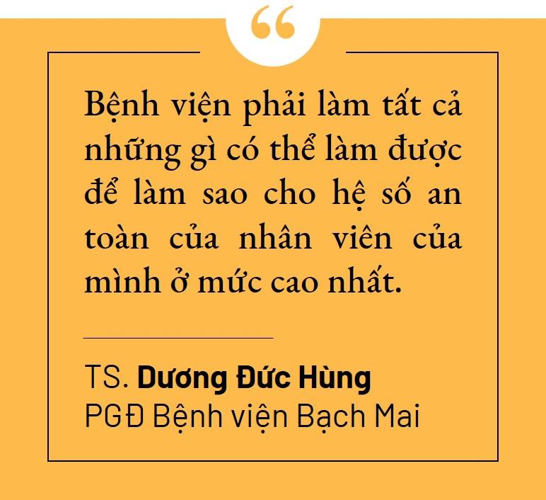 Lãnh đạo Bệnh viện Bạch Mai: 'Chúng tôi cần nhất là sự ủng hộ về tinh thần' - Ảnh 7.