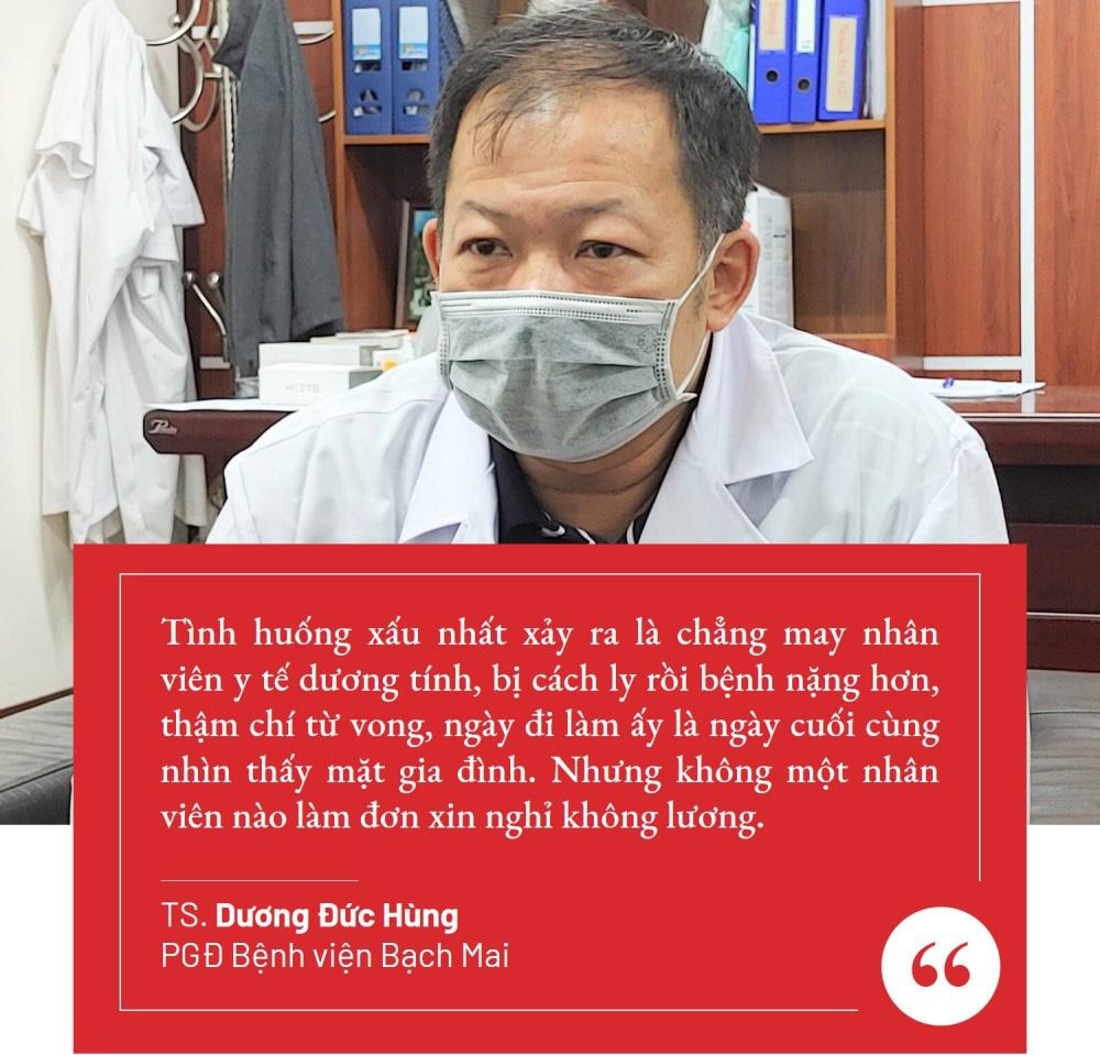 Lãnh đạo Bệnh viện Bạch Mai: 'Chúng tôi cần nhất là sự ủng hộ về tinh thần' - Ảnh 8.