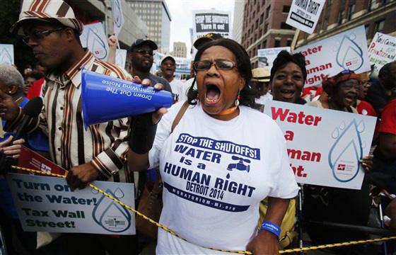 Người nghèo Mỹ than thở: 'Chúng tôi không đủ nước sạch để rửa tay' - Ảnh 3.