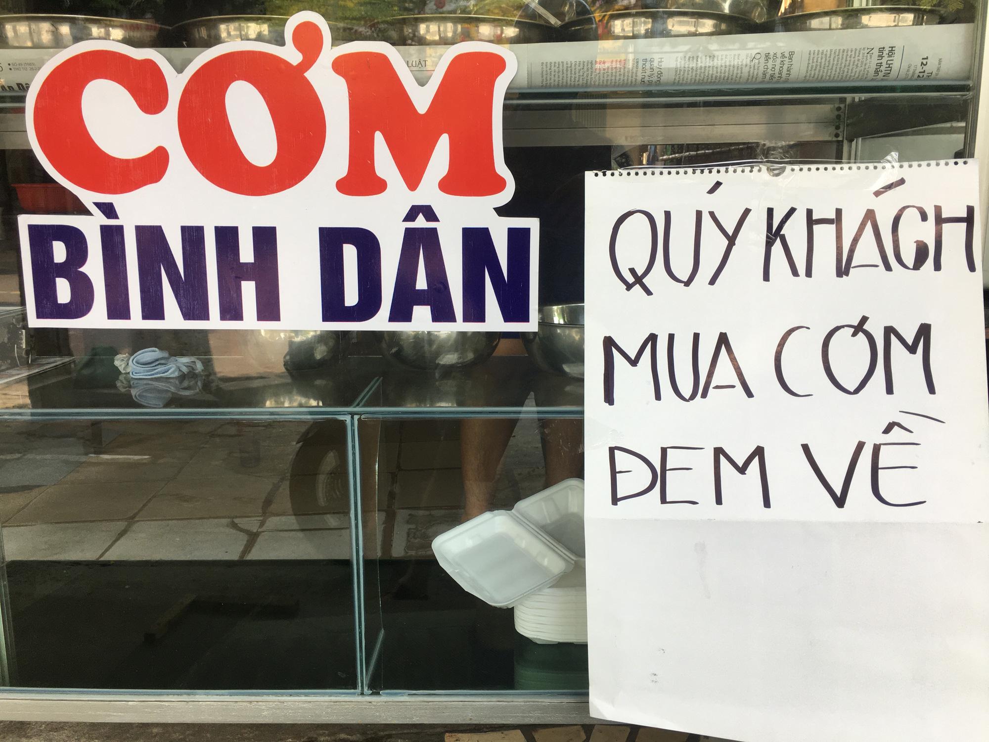 Người Đà Nẵng chấp hành tạm dừng kinh doanh, chuyển sang bán hàng online, tự mang về - Ảnh 13.