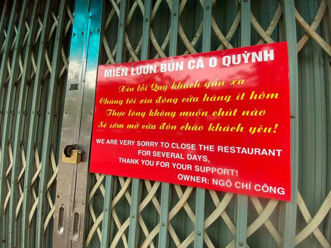 Ngày đầu Hà Nội thực hiện 'lệnh' đóng cửa hàng quán - Ảnh 1.