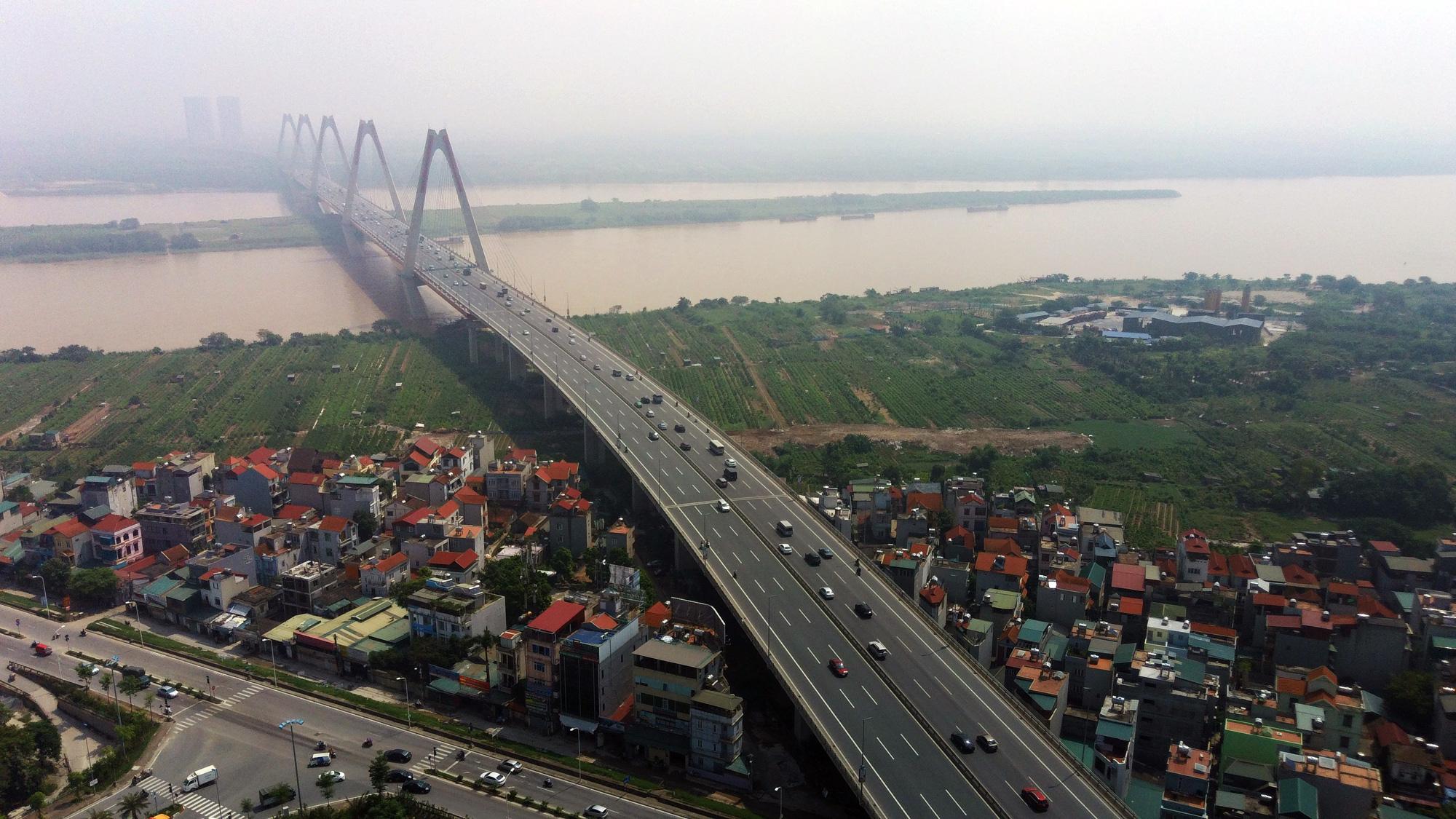 Đường sẽ mở theo qui hoạch: Toàn cảnh đường nối cầu Nhật Tân với Vành đai 4 - Ảnh 2.