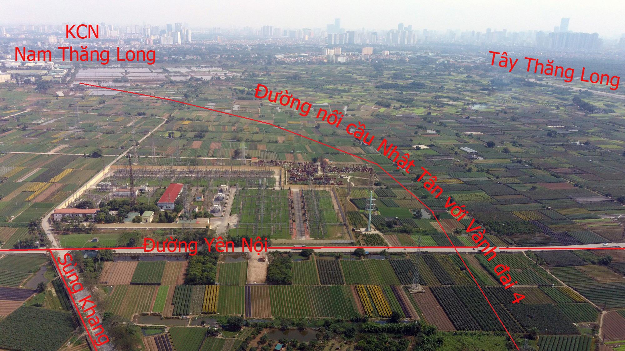 Đường sẽ mở theo qui hoạch: Toàn cảnh đường nối cầu Nhật Tân với Vành đai 4 - Ảnh 17.