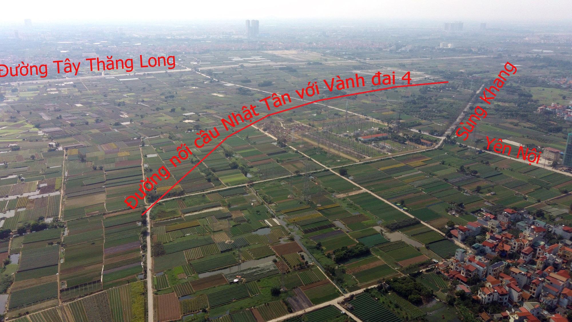 Đường sẽ mở theo qui hoạch: Toàn cảnh đường nối cầu Nhật Tân với Vành đai 4 - Ảnh 16.