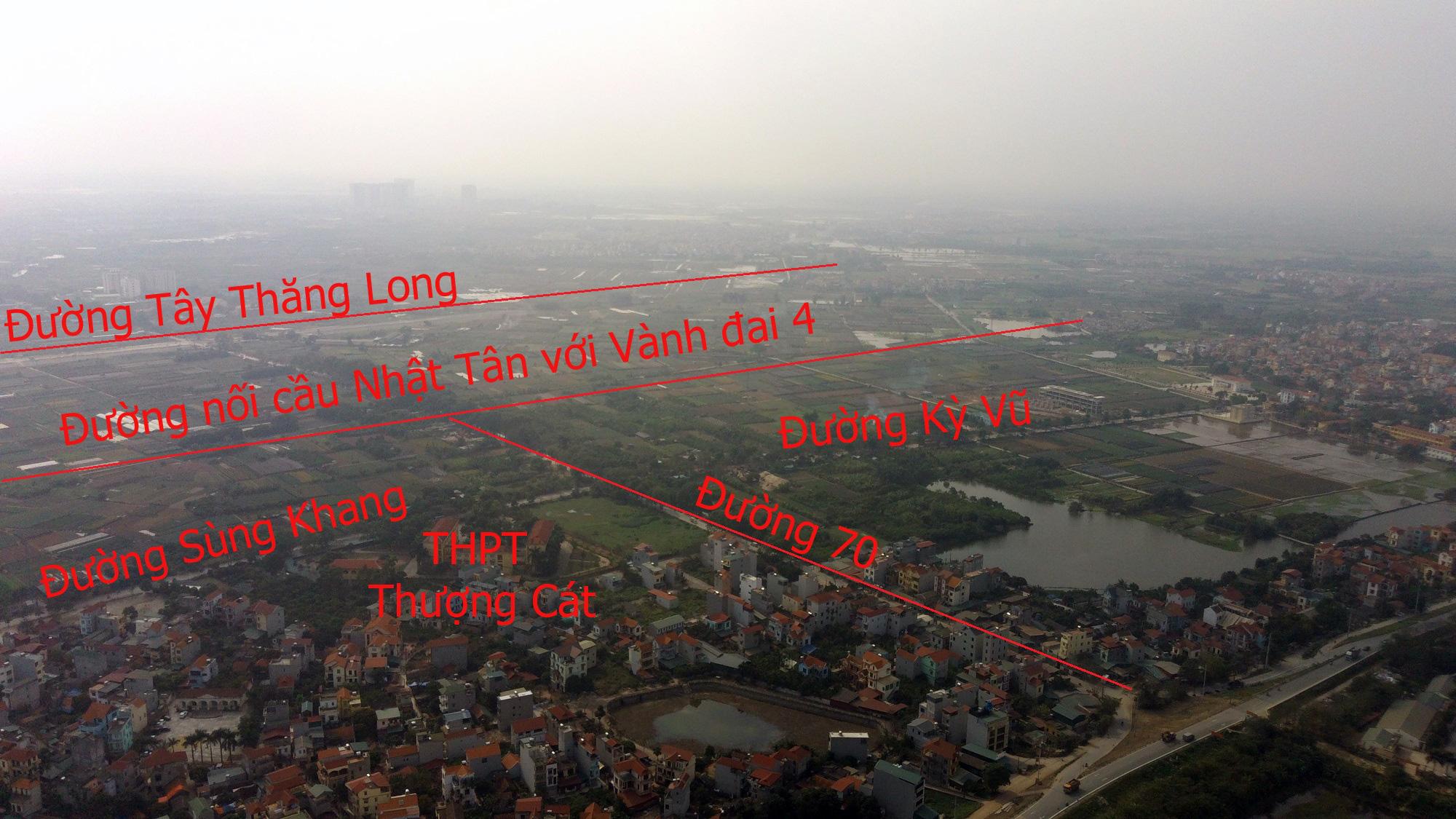 Đường sẽ mở theo qui hoạch: Toàn cảnh đường nối cầu Nhật Tân với Vành đai 4 - Ảnh 20.