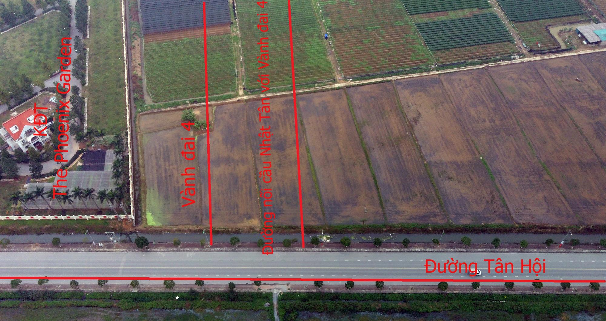 Đường sẽ mở theo qui hoạch: Toàn cảnh đường nối cầu Nhật Tân với Vành đai 4 - Ảnh 22.