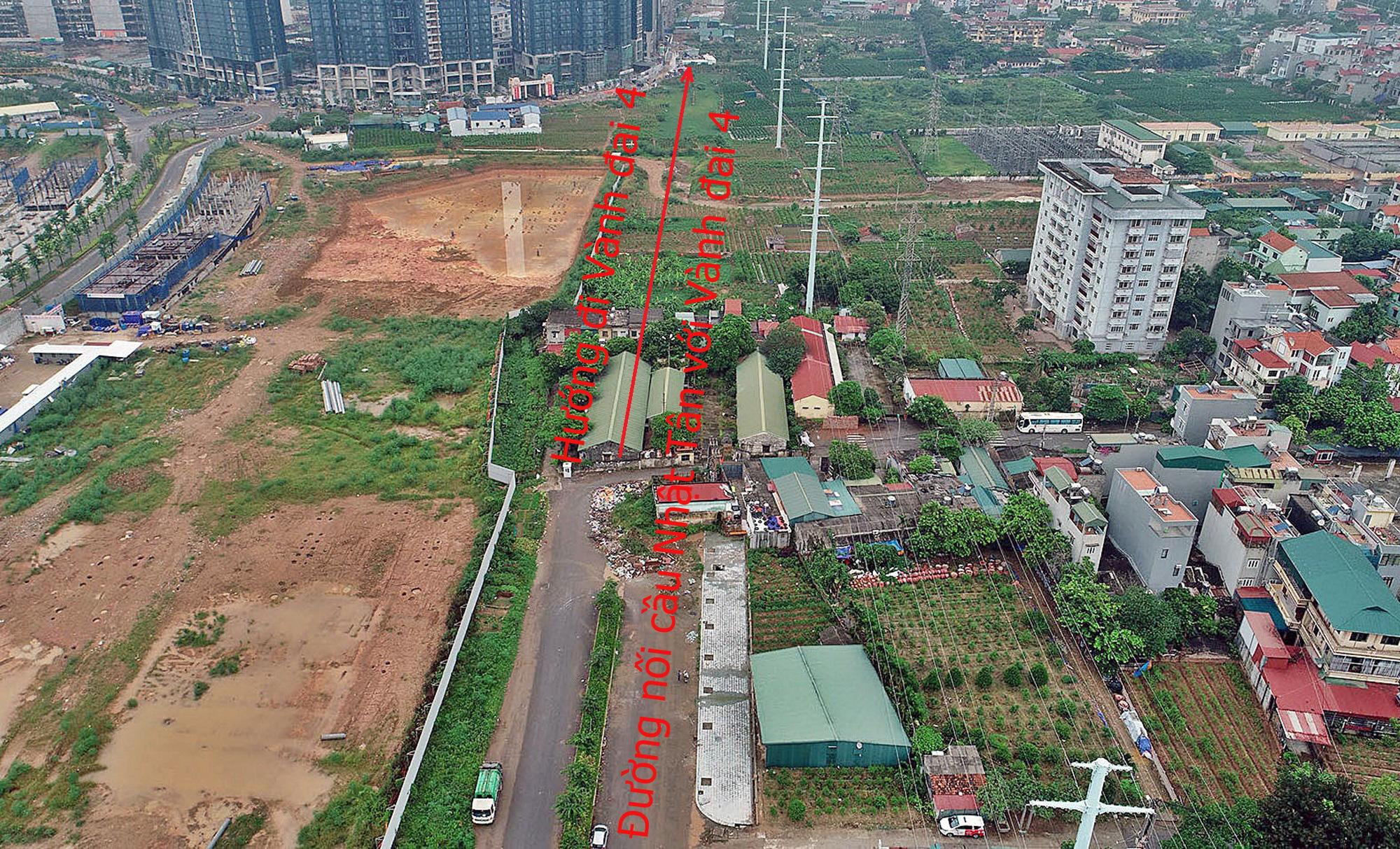 Đường sẽ mở theo qui hoạch: Toàn cảnh đường nối cầu Nhật Tân với Vành đai 4 - Ảnh 5.