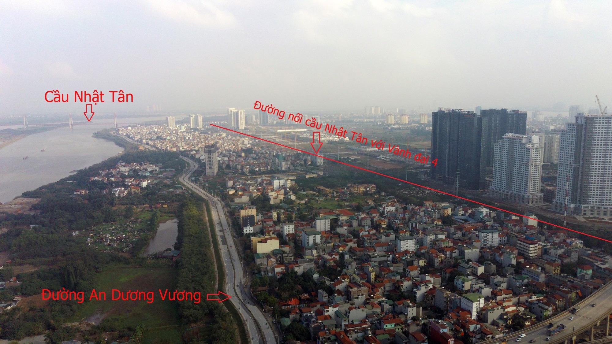 Đường sẽ mở theo qui hoạch: Toàn cảnh đường nối cầu Nhật Tân với Vành đai 4 - Ảnh 6.