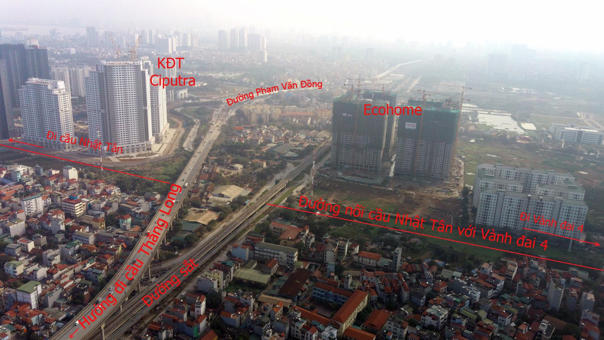 Đường sẽ mở theo qui hoạch: Toàn cảnh đường nối cầu Nhật Tân với Vành đai 4 - Ảnh 7.