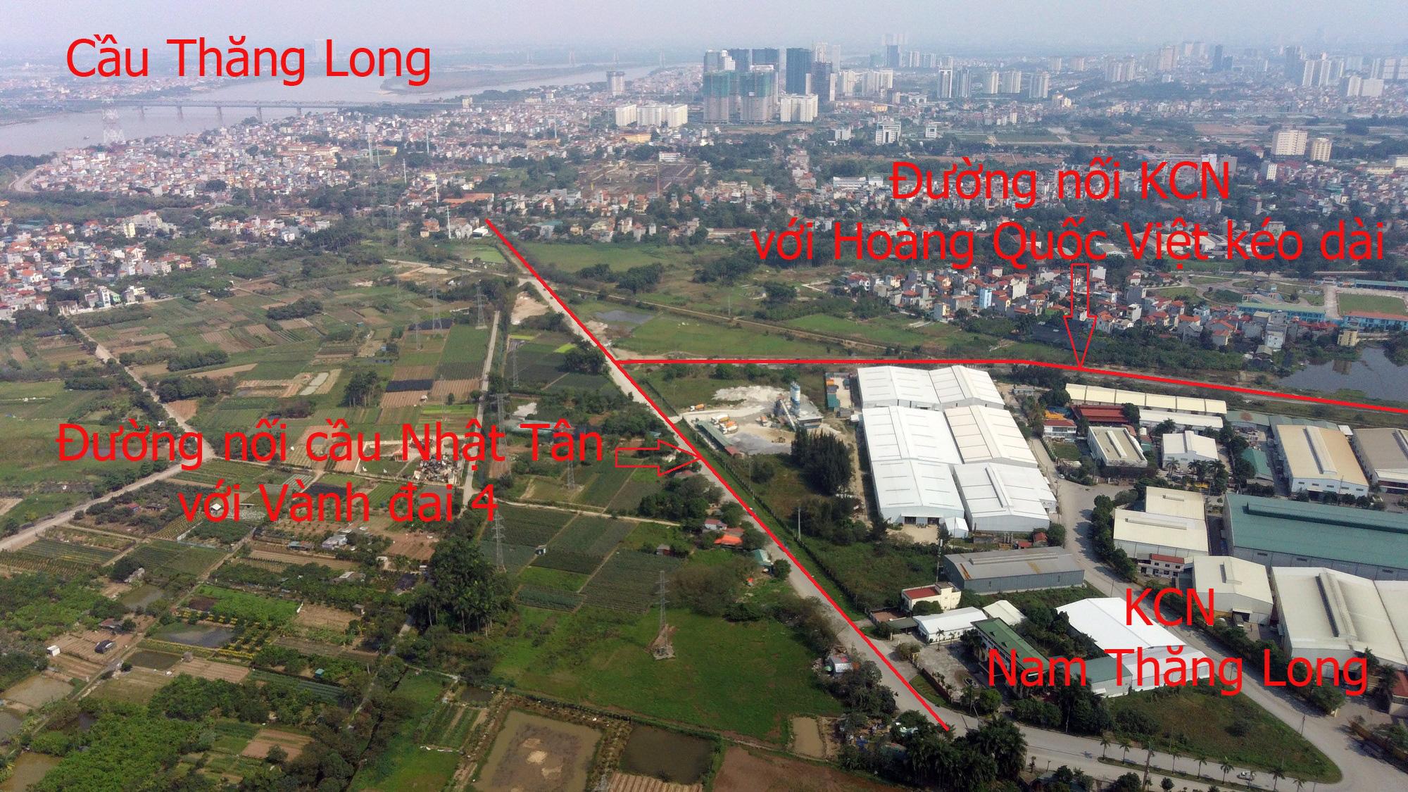 Đường sẽ mở theo qui hoạch: Toàn cảnh đường nối cầu Nhật Tân với Vành đai 4 - Ảnh 11.