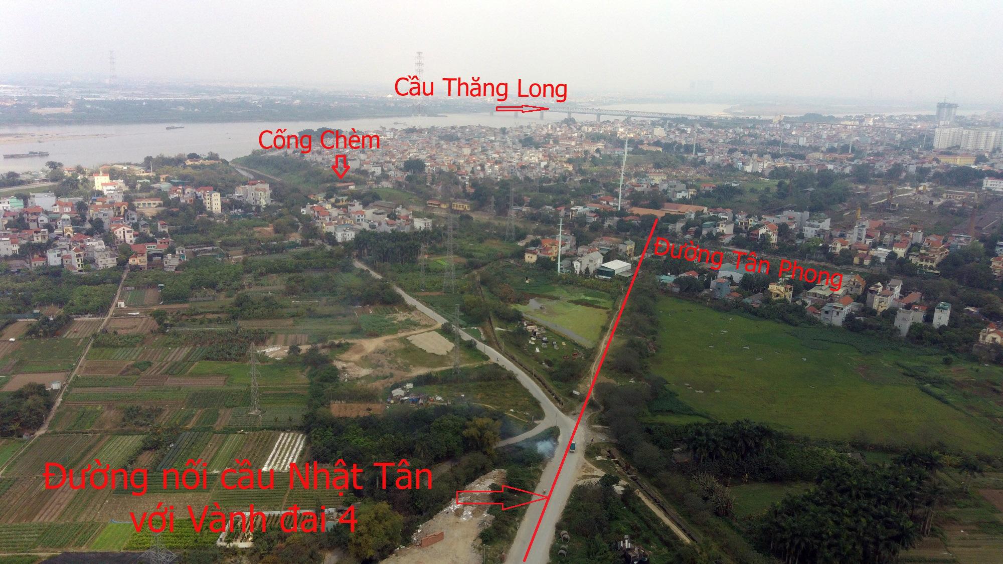 Đường sẽ mở theo qui hoạch: Toàn cảnh đường nối cầu Nhật Tân với Vành đai 4 - Ảnh 10.