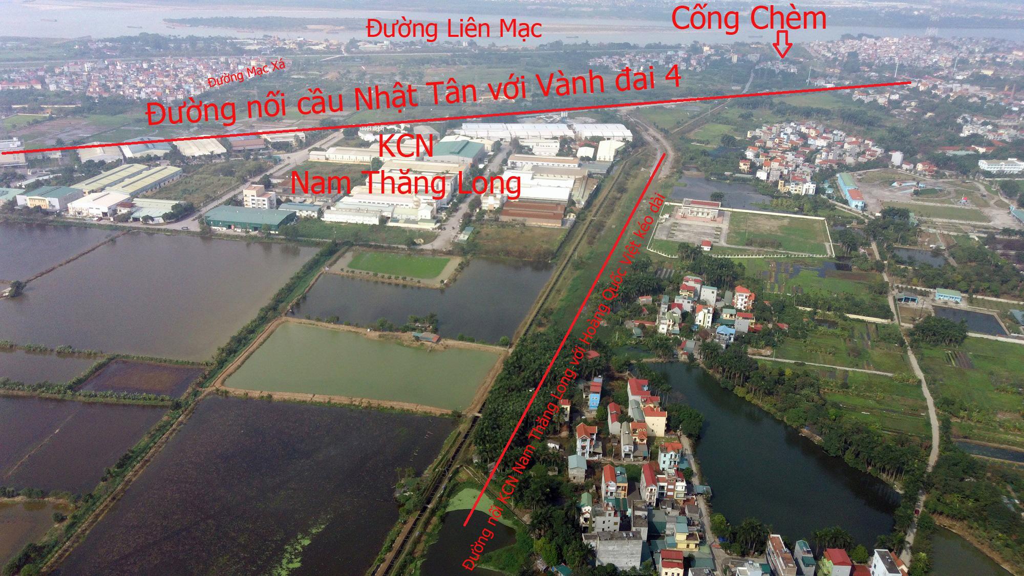Đường sẽ mở theo qui hoạch: Toàn cảnh đường nối cầu Nhật Tân với Vành đai 4 - Ảnh 13.
