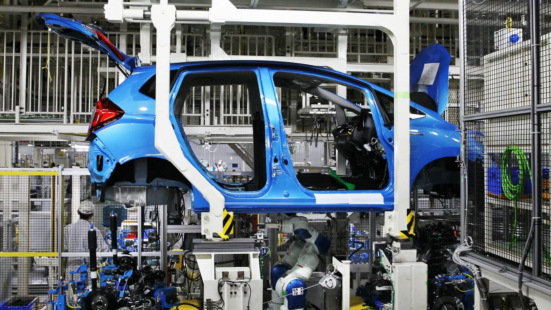 Honda dừng sản xuất vì thiếu phụ tùng Trung Quốc - Ảnh 1.