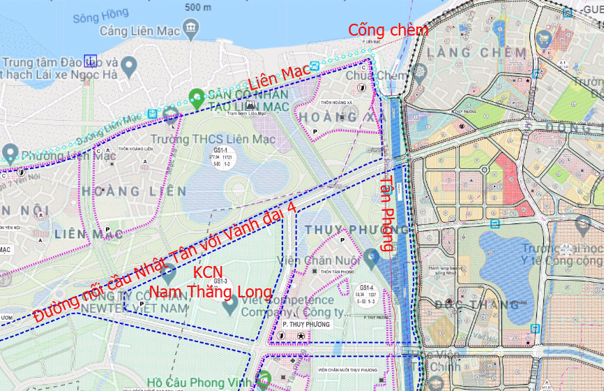 Đường sẽ mở theo qui hoạch: Toàn cảnh đường nối cầu Nhật Tân với Vành đai 4 - Ảnh 12.
