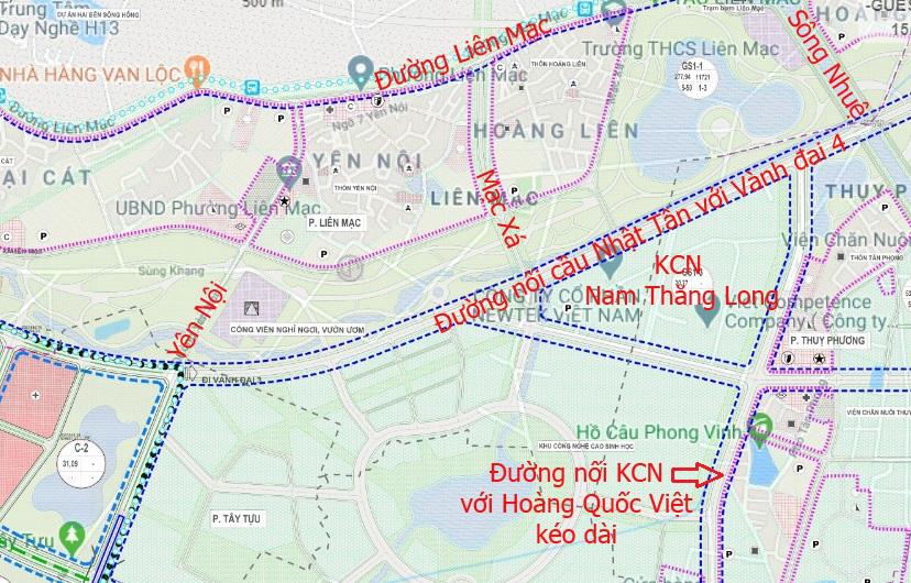 Đường sẽ mở theo qui hoạch: Toàn cảnh đường nối cầu Nhật Tân với Vành đai 4 - Ảnh 15.