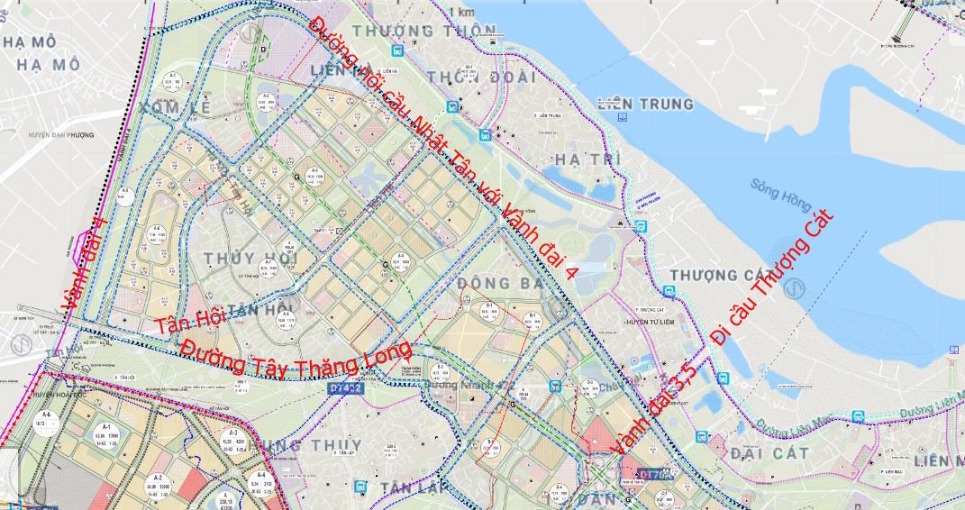 Đường sẽ mở theo qui hoạch: Toàn cảnh đường nối cầu Nhật Tân với Vành đai 4 - Ảnh 27.
