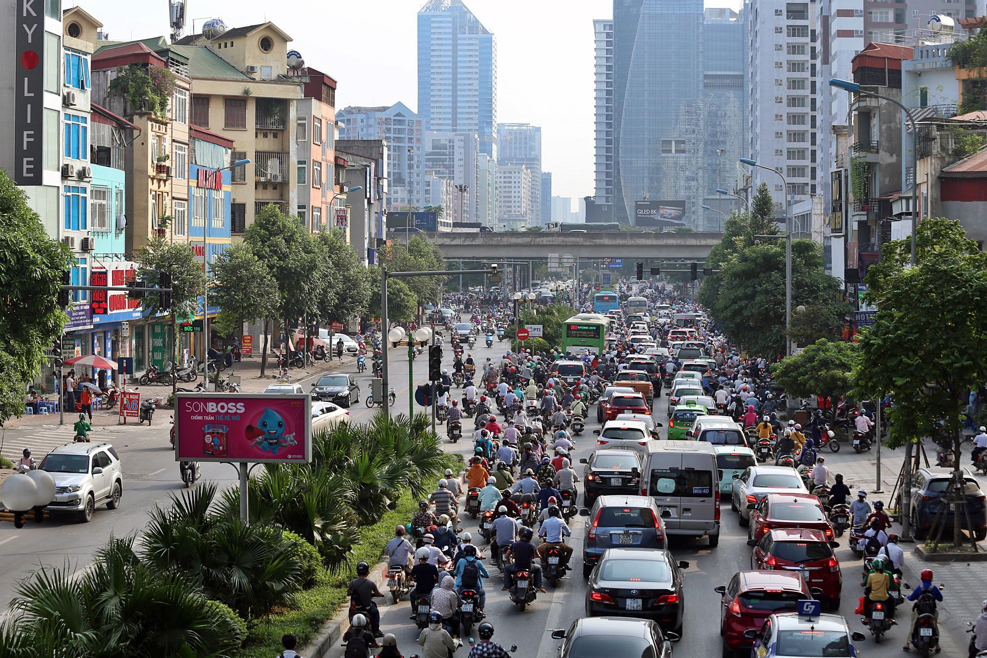 Toàn cảnh khu vực xây hầm chui Lê Văn Lương - Vành đai 3 gần 700 tỉ đồng - Ảnh 19.