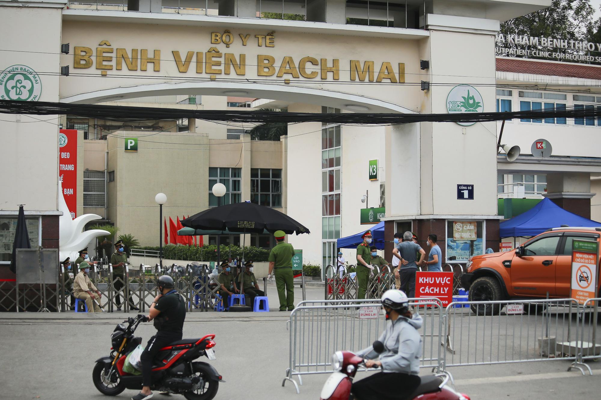 Công ty Trường Sinh khả năng là nguồn lây nhiễm chính tại BV Bạch Mai - Ảnh 1.