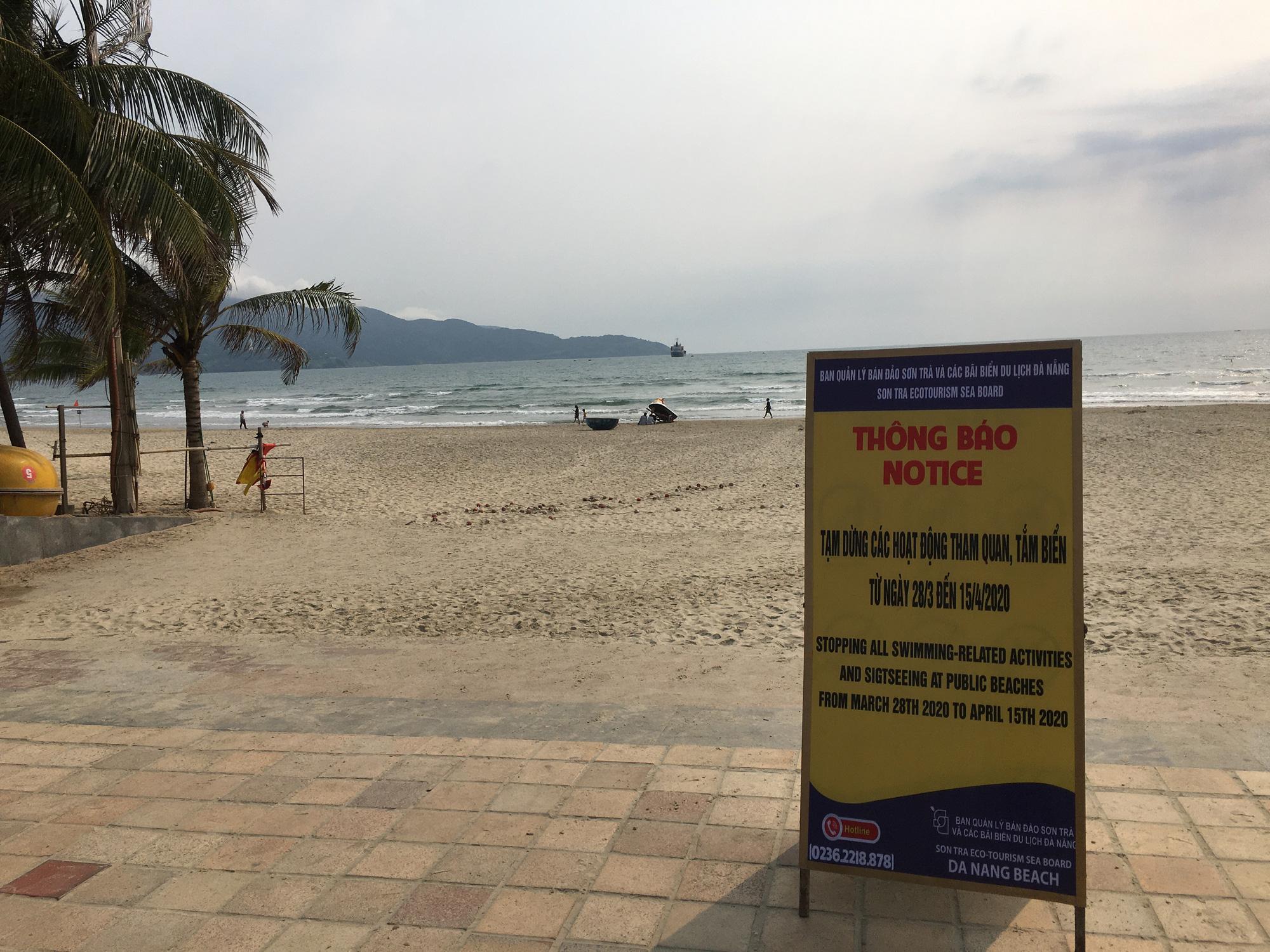 Khách sạn, công trình xây dựng ven biển, các hãng thời trang lớn ở Đà Nẵng đóng cửa hàng loạt trước ngày 'cách li toàn xã hội' - Ảnh 13.