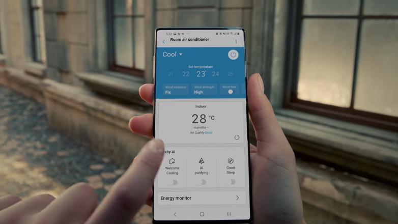 Samsung đang thử nghiệm trên một thiết bị toàn màn hình, rất có thể là Galaxy Note 20 - Ảnh 1.