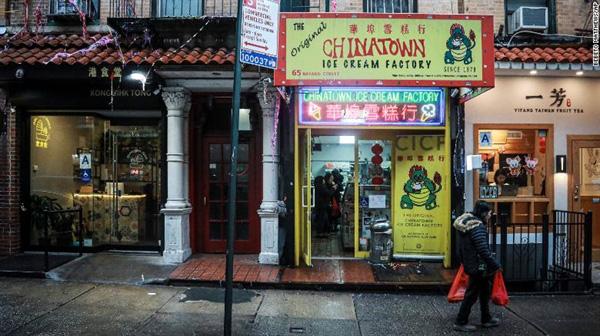 Vì virus corona, người Mỹ tại New York không muốn làm ăn với người Trung Quốc, khu Chinatown vắng hoe - Ảnh 1.