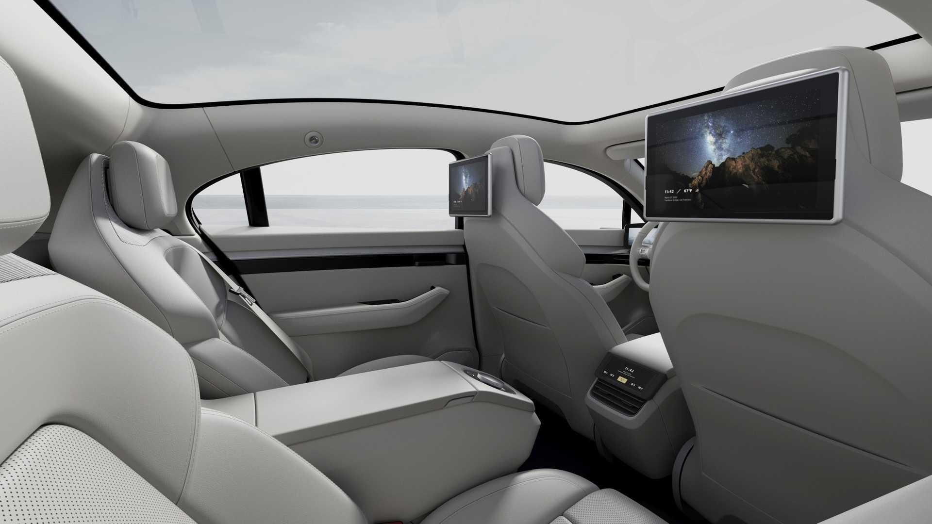 Cận cảnh chiếc xe điện Vision - S đến từ tương lai của Sony - Ảnh 4.