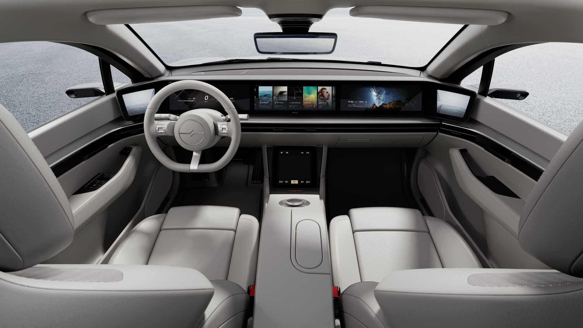 Cận cảnh chiếc xe điện Vision - S đến từ tương lai của Sony - Ảnh 3.