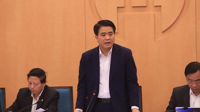 Hà Nội họp khẩn về dịch Covid-19 lúc 22 giờ đêm - Ảnh 1.