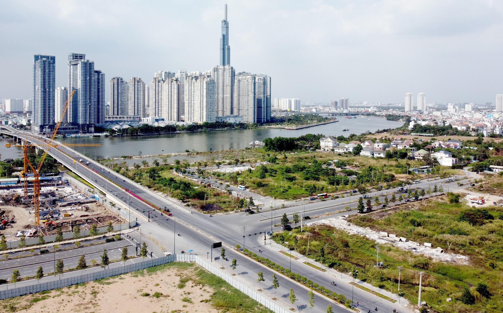 Toàn cảnh dự án Khu dân cư phía Bắc ở Thủ Thiêm của CII vừa được TP HCM cho tiếp tục triển khai - Ảnh 1.