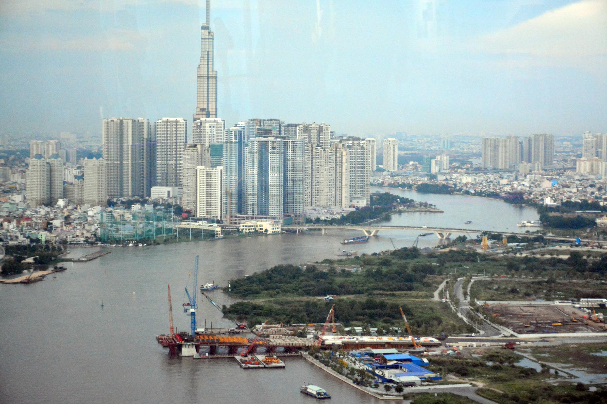Toàn cảnh dự án Khu dân cư phía Bắc ở Thủ Thiêm của CII vừa được TP HCM cho tiếp tục triển khai - Ảnh 7.