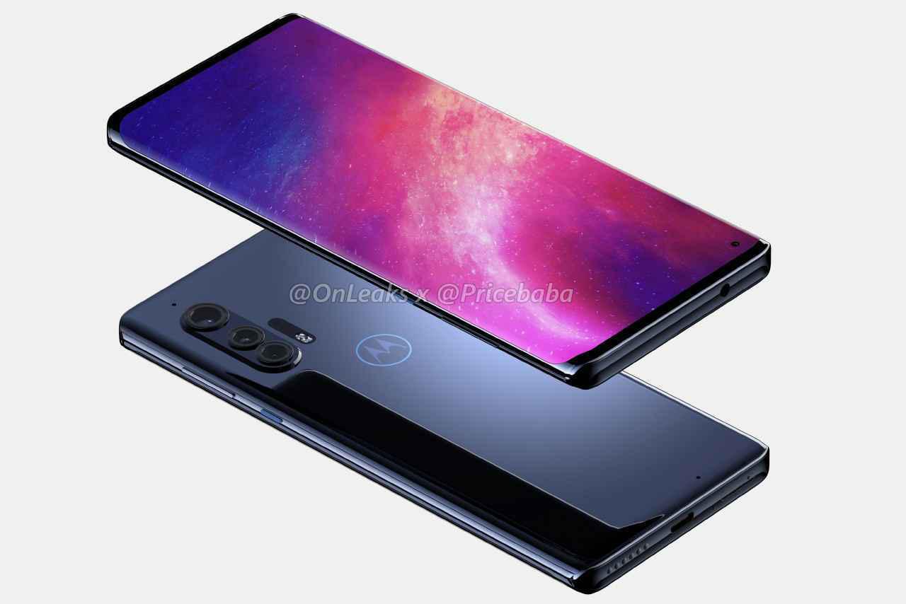 Lộ diện thiết kế điện thoại 5G Motorola Edge + với màn hình tràn viền tuyệt đẹp - Ảnh 3.