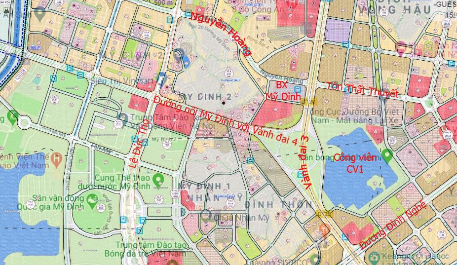 Đường sẽ mở theo qui hoạch: Toàn cảnh đường nối Mỹ Đình với Vành đai 4 - Ảnh 5.