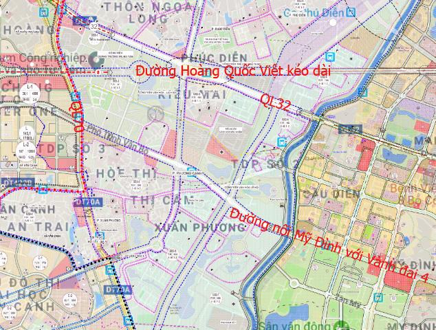 Đường sẽ mở theo qui hoạch: Toàn cảnh đường nối Mỹ Đình với Vành đai 4 - Ảnh 13.