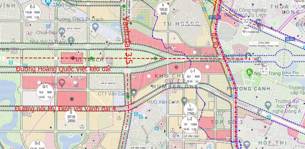 Đường sẽ mở theo qui hoạch: Toàn cảnh đường nối Mỹ Đình với Vành đai 4 - Ảnh 16.
