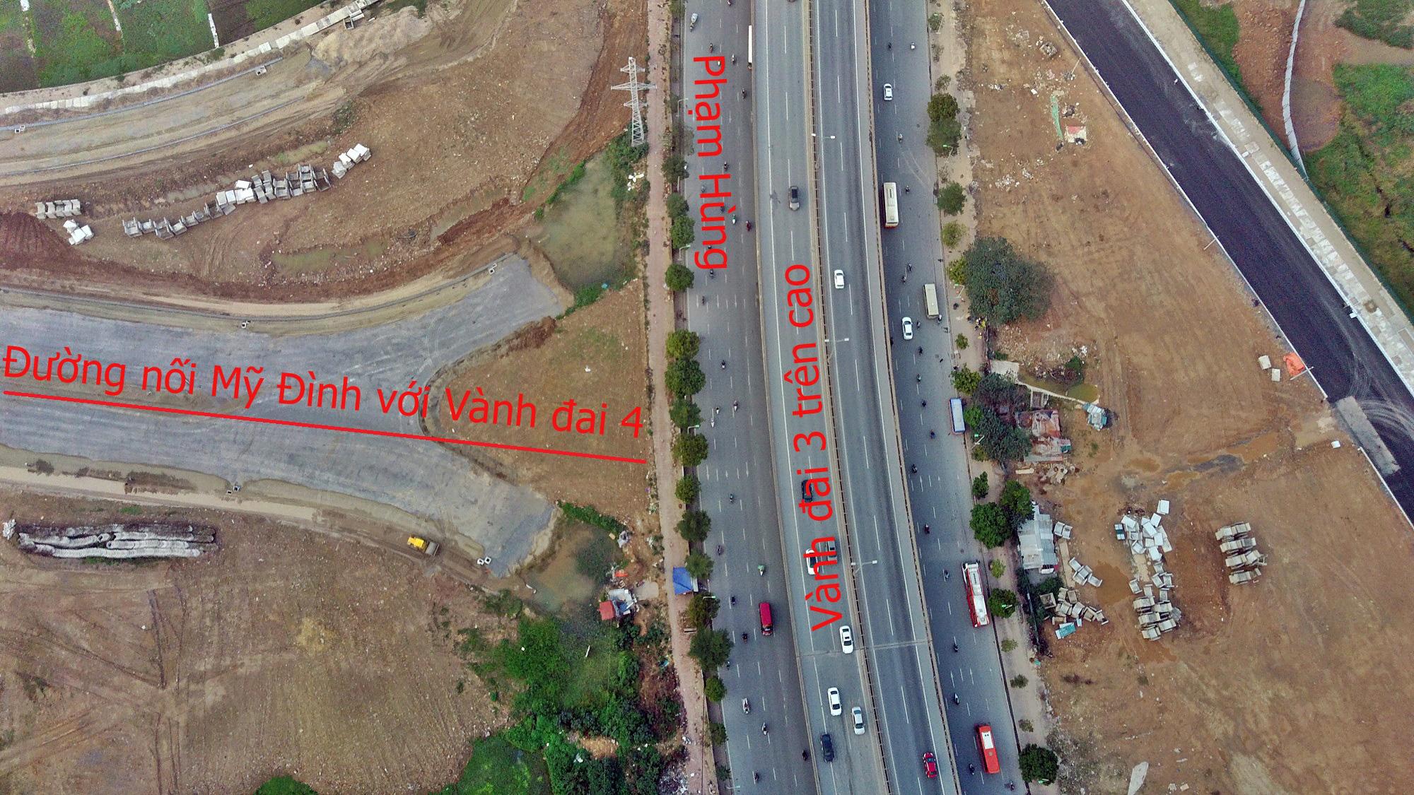 Đường sẽ mở theo qui hoạch: Toàn cảnh đường nối Mỹ Đình với Vành đai 4 - Ảnh 4.